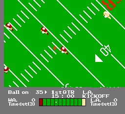 NES Play Action Football - NES