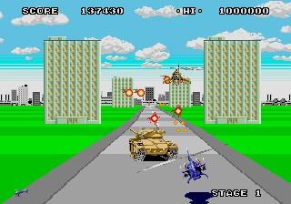Super Thunder Blade - Genesis