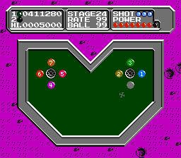 Lunar Pool - NES