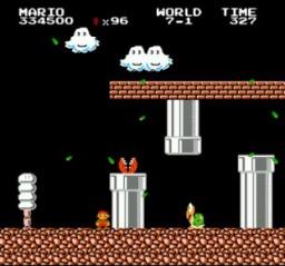 Super Mario Bros - Lost Levels - NES