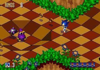 Sonic 3d Blast - Genesis