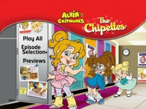Alvin & The Chipmunks: Chipettes - DVD Menu