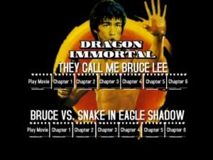 Dragon Immortal - DVD Menu