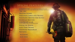 Fireproof – Special Features