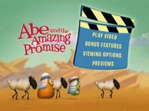 Veggie Tales: Abe & The Amazing Promise - DVD Menu