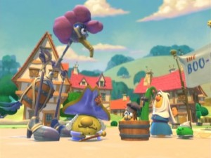 Veggie Tales: Abe & The Amazing Promise – Screen Two
