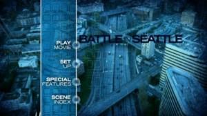 Battle in Seattle - DVD Menu