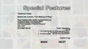 Fling - Special Features