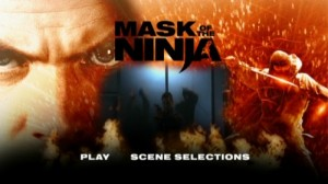 Mask of the Ninja - DVD Menu