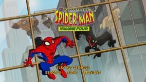Spectacular Spider-Man, The: Season Four - DVD Menu