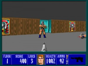 Wolfenstein 3d - Screen One