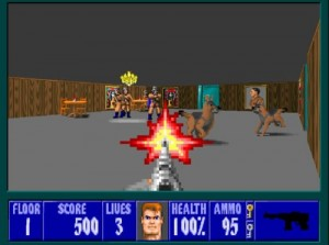 Wolfenstein 3d - Screen Two