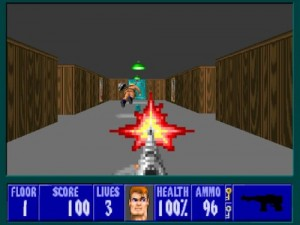 Wolfenstein 3d - Screen Three