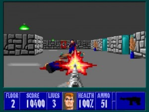 Wolfenstein 3d - Screen Four