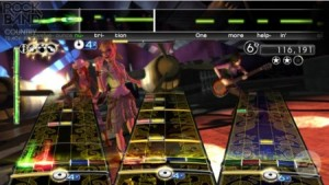 Rock Band Track Pack: Country - Screen One