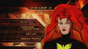 X-Men, Volume 3 - DVD Menu