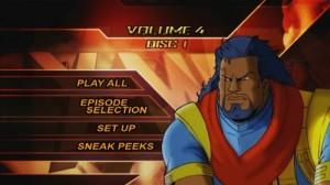X-Men, Volume 4 - DVD Menu