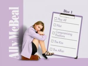 Ally McBeal Season One - DVD Menu