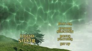 Legend of the Seeker Season 1 - DVD Menu