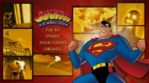 Superman: The Complete Animated Series - DVD Menu