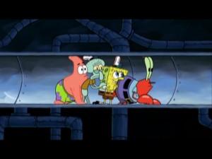 Spongebob's Truth or Square – Screen One