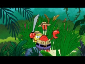 Spongebob's Truth or Square – Screen Two