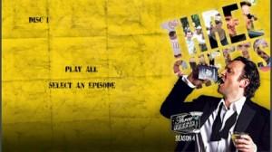 Three Sheets Season 4 - DVD Menu
