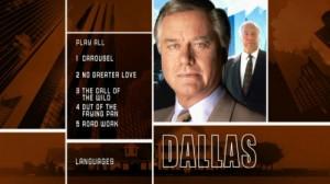 Dallas Season Twelve - DVD Menu