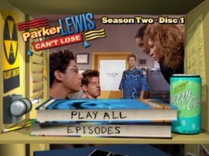 Parker Lewis Can't Lose Season Two - DVD Menu