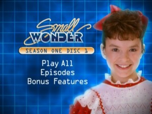 Small Wonder Season One - DVD Menu