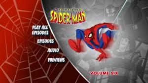 Spectacular Spider-Man, The: Volume Six  - DVD Menu