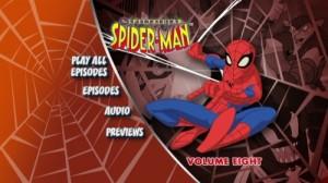 Spectacular Spider-Man, The: Volume Eight  - DVD Menu