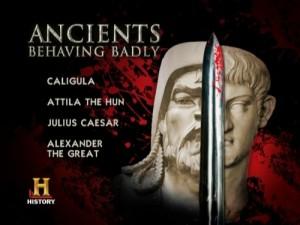 Ancients Behaving Badly - DVD Menu