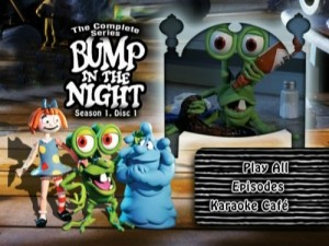 Bump in the Night - DVD Menu