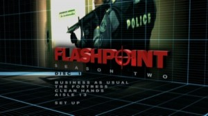 Flashpoint Season 2 - DVD Menu