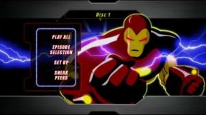 Iron Man 1994 Animated Series - DVD Menu