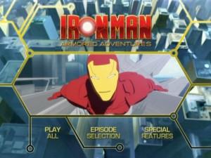 Iron Man Armored Adventures Season One - DVD Menu
