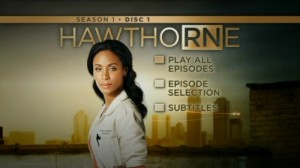 Hawthorne Season 1 - DVD Menu