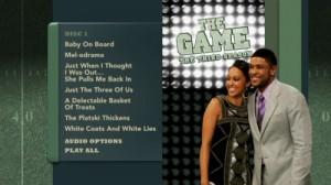 The Game Season Three - DVD Menu