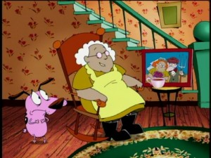 Courage the Cowardly Dog, Season One - Screen Two