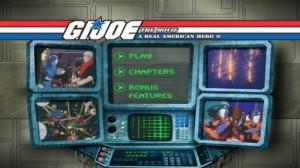 G. I. Joe the Movie - DVD Menu