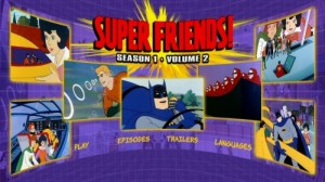 Superfriends Season One, Volume Two - DVD Menu