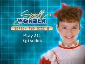 Small Wonder Season Two - DVD Menu