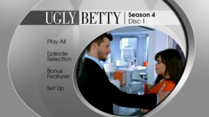 Ugly Betty Season 4 - DVD Menu