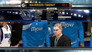 NBA 2K12 - Screen One